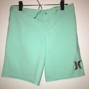BRAND NEW!!! Hurley board shorts-mint green